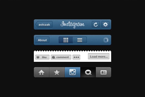 Instagram GUI