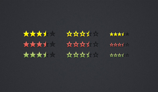 Review & Rating Stars