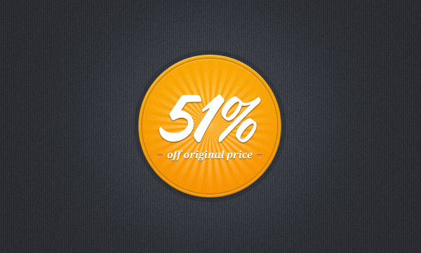 Sale/Discount Badge
