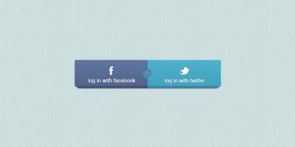 Facebook / Twitter Login Buttons