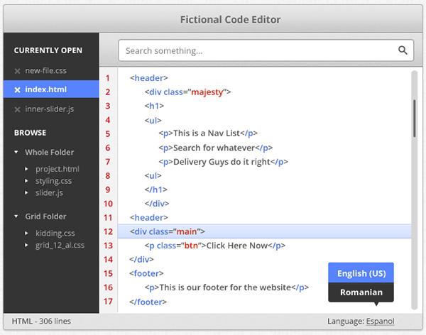 Code-Editor-Design