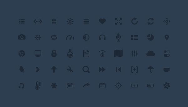 50 Glyphs
