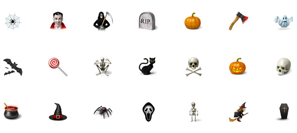 Desktop Halloween Icons