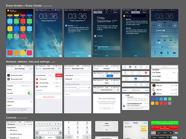 iOS 7 UI