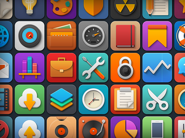 Softies - Colorful And Playful Icon Set