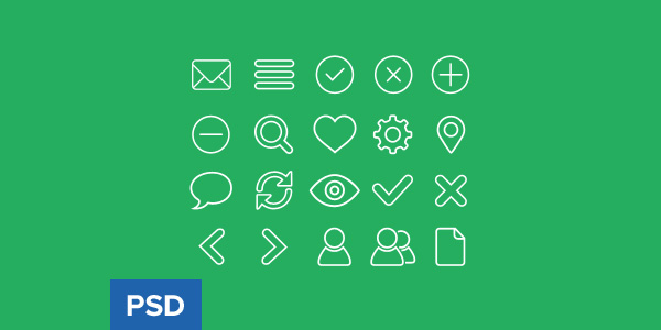 Outline-icon-set