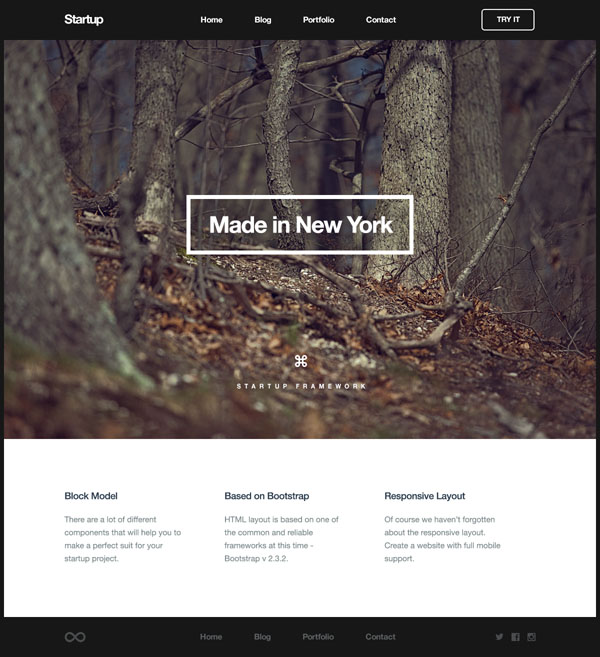 Logistic Website Template