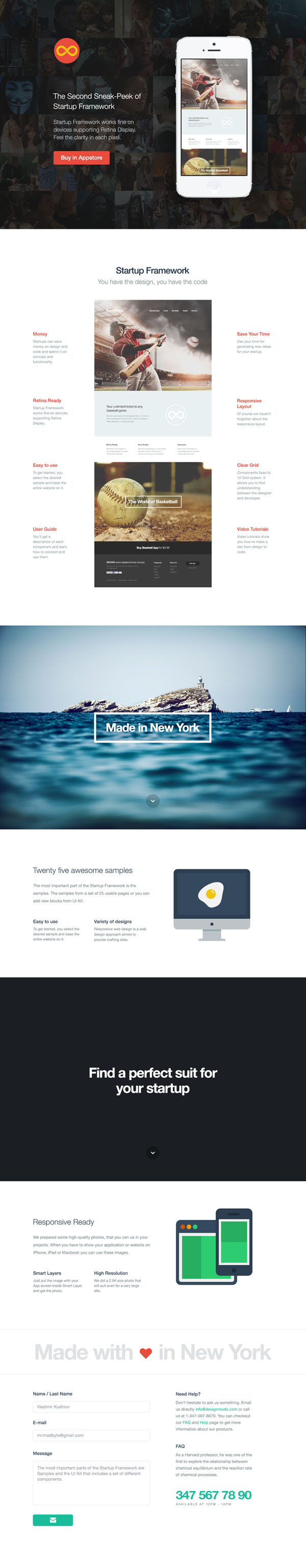 Art and Photography Website Template