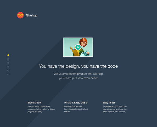 Corporate Website Template for Companies