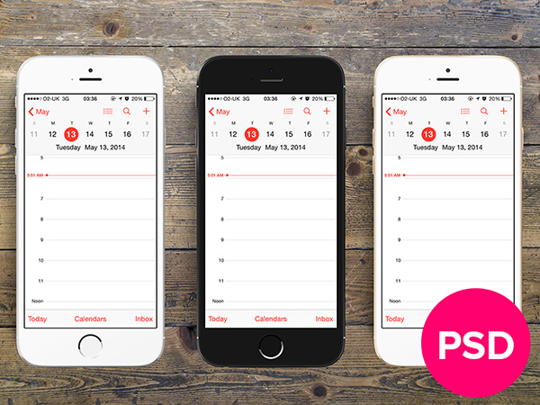 "iPhone 6 - 4,7"" devices PSD"