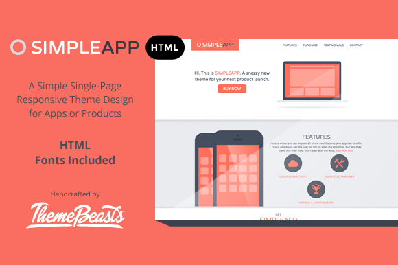 SimpleApp - Free HTML Landing Page (3)