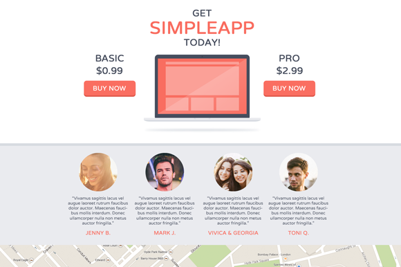 SimpleApp - Free HTML Landing Page (2)