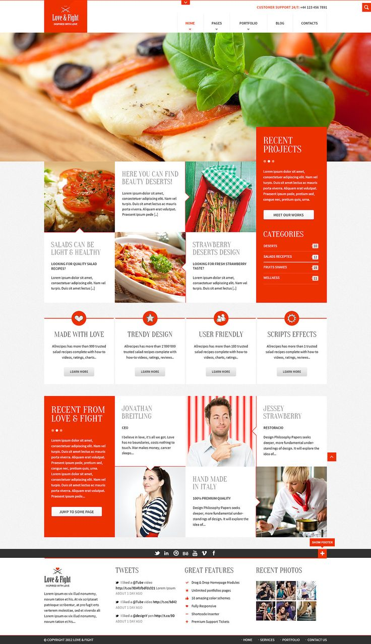 Free Website Templates Download Free PSD And HTML - Complete website templates free download